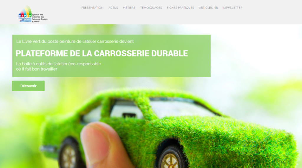 Plateforme carrosserie durable